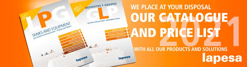Lapesa: Neue Kataloge und LPG-Preisliste