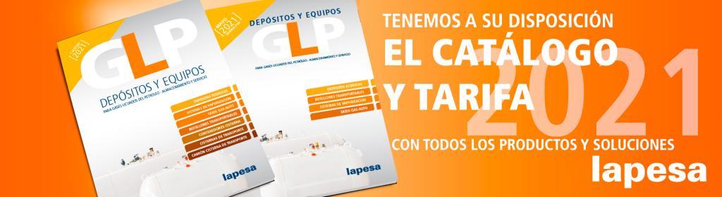 Lapesa: Nuevos Catálogos y Tarifa GLP