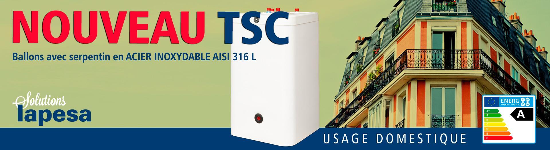 Nouveaux modèles TSC