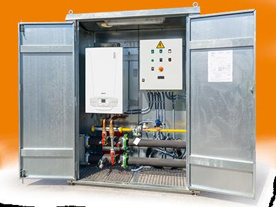 Modular equipment vaporization and heating